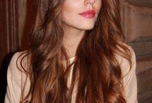 Copper brown hair styles