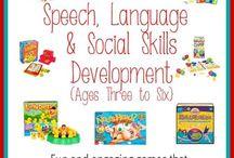 speech delopment and special needs