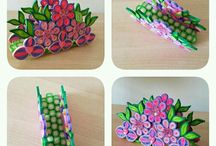 Oggetti quilling art