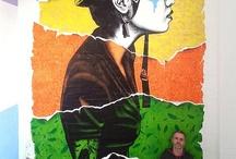 Fin Dac / The amazing street works of Fin Dac... #findac #lsdmagazine #graffiti #streetart