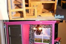 repurpose furniture diy / by Miriam Williams Junge