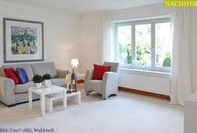 Home Staging bei leeren Immobilien / Beispiele von Projekten, wo die Immobilie vor der Vermarktung nicht mehr bewohnt war und durch Home Staging den Wohlfühlfaktor erhalten hat