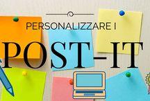 post-it personalizzati