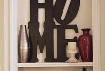 HOME DECORATION / by Barbara Bosworth