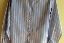 Pink Thomas Pink London, classic cotton shirt / Blue