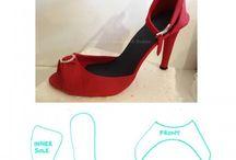 Zapatos fondant