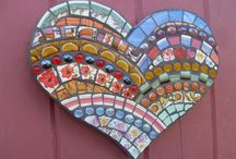 mosaic hearts inspiration