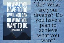 Are You Happy Where You Are? / Are you happy with what you are doing?  Are you happy with your job?  What would you rather be doing right now?  Do you have a plan to get there?