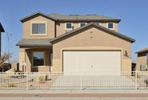 Mallory Floor Plan / 1589 sqft, 3 + Loft, 2.5 bathrooms, 2 levels available in TDE 67  www.desertviewhomes.com