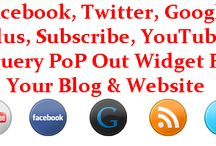 Blogs & Website Widgets / by EXEIdeas