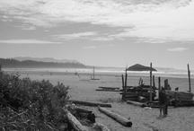 // LongBeach Tofino // / 忘れられないお気に入りの特別な場所。 カナダの西海岸、バンクーバー島にあるとてもきれいな海岸。