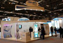 Climatización 2015 / Salón Internacional de Aire Acondicionado, Calefacción, Ventilación y Refrigeración celebrado en 2015 en IFEMA donde COOC Alternativa de Diseño realizó stands para varios clientes.