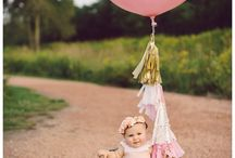 Pink & Gold baby photo shoot / by Martha Cuello
