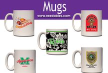 Mugs / Contact us about making something special for you. info@reedables.com