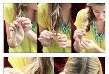 Hair, Make-up, nails DIY