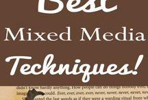 Mixed media techniques