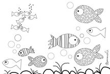 Coloring Book Pages / by Lauren Smitherman