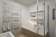 Łazienki - kolory i wzory