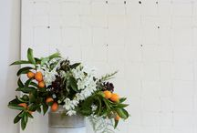 Orange  / orange flowers and event details / by Laurie Arons