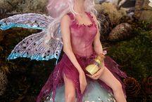 Polymer Clay Elves Fairy's Princesses