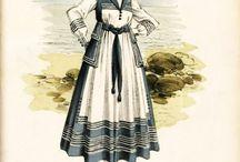 Historical sailor dress