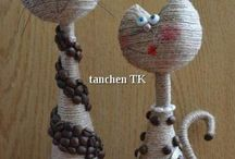Топиарии, сувениры и композиции
