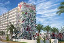 The Ushuaia Tower / The Ushuaia Tower, a spectacular tower of 8-floor, will undoubtedly be of greatest surprising contribution for the hotel chain next season, complementing the