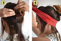 bantlı saç