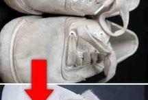 Blanquear zapatillas