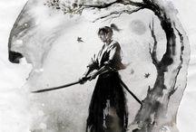 Manga and japanese inspired art