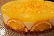 portakalı irmikli pasta
