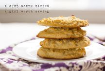Paleo vanilla scones