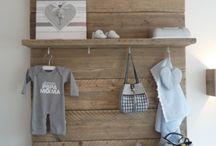 Babyroom, nursery / Decorating ideas for the babyroom, nursery
