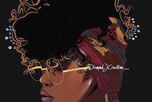 Art femmes noires