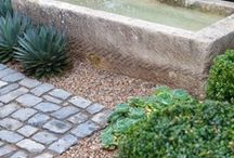 Water Feature / Inspiration for natural stone water features.