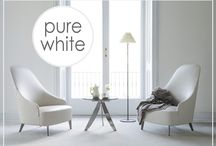 Pure White / White colour symbolizes elegance, pureness, minimalism. Let us inspire you with our pure-white collection. www.design-apart.com