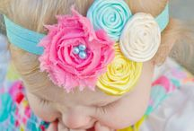 shabby chic & headbands