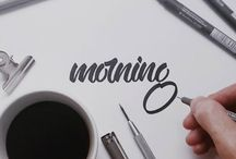 calligraphy | hand lettering