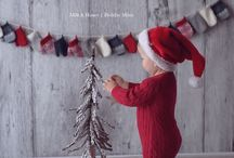 Christmas- baby photoshoot / Christmas- baby photoshoot inspiration