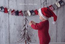 Christmas- baby photoshoot