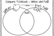 School- compare/contrast / by Kerri LeSieur