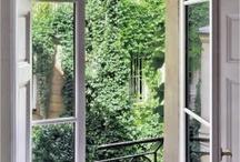 Fences, balconies and windows