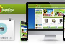 Tiendas Online - eCommerce / Proyectos realizados con la plataforma de cración de tiendas online y páginas web Ebasnet.  www.ebasnet.com