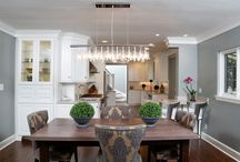 Rocky River Gourmet Kitchen / A cramped, choppy kitchen in a classic Rocky River home opens up to beautiful new possibilities with a spacious new layout, custom cabinetry and updated appointments.