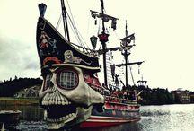 Military Sailing Ships, Pirate Ships