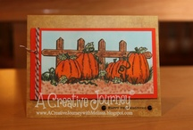 Thanksgiving/Fall / Check out my blog at http://acreativejourneywithmelissa.blogspot.com/ or check out my Facebook Business Page at https://www.facebook.com/pages/A-Creative-Journey/146653672077197 for more ideas and inspiration or allow us to create for you today!