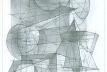 Композиция из геометрических тел