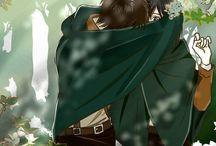 Eren and Mikasa <3