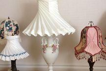 Morlite Lampshades / http://morlitelampshades.com/index.html Custom, handsewn fabric lampshades