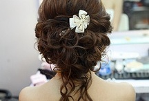 """wedding hair ideas / hairstyles that i like - for """"mixed"""" hair."""